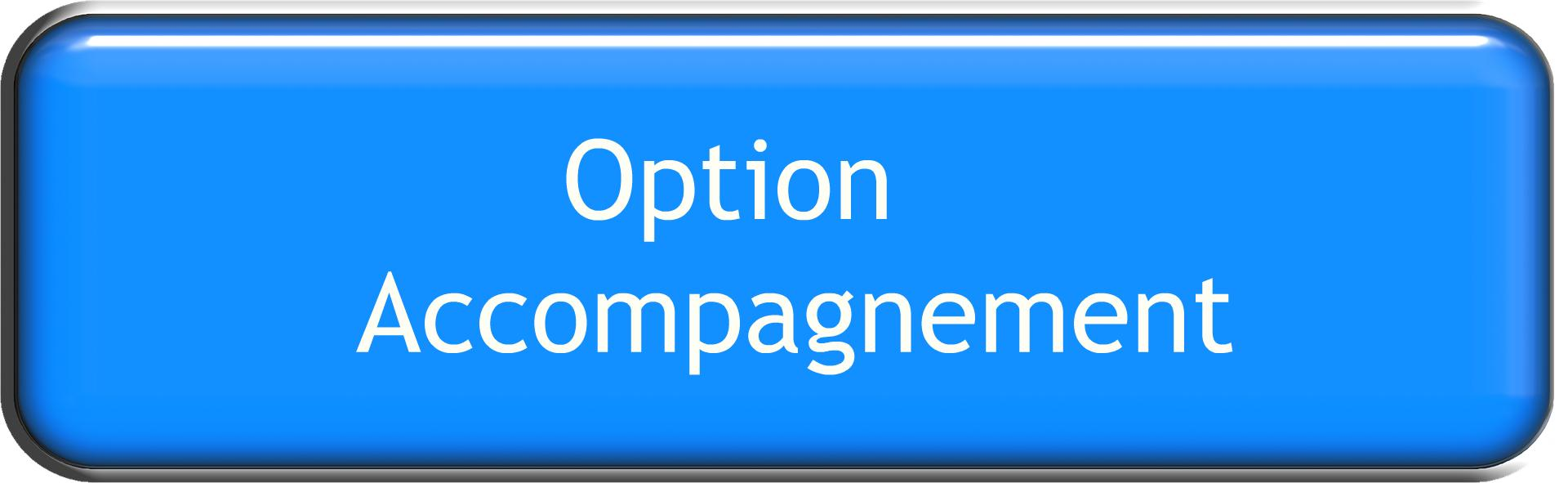 Option accompagnement